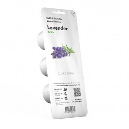 Recharge triple de Lavande pour Smart Garden - Click and Grow