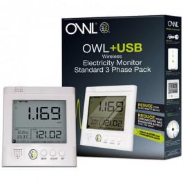 OWL+USB CM160 installation triphasée - OWL