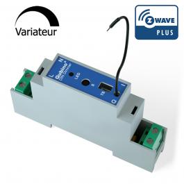 Module variateur Z-Wave Rail DIN avec mesure d'énergie - Qubino