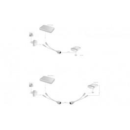 DIGITUS Kit de câbles PoE