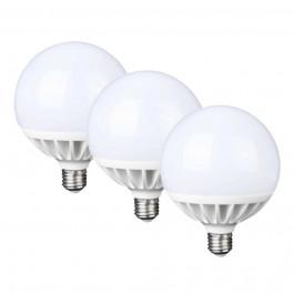 Lot de 3 ampoules Globe 20W blanc naturel - FamilyLed