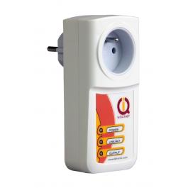 Prise pilotable par IP avec détecteur de coupure IQSocket LAN - IQTronic