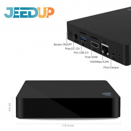 Box domotique Jeedup version RFP1000 (Powered by Jeedom) - Wizelec