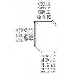 Tableau de distribution avec rail DIN 6 modules - Kanlux