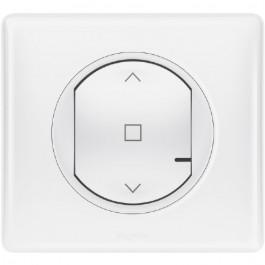 Commande sans fil pour interrupteur de volets Céliane with Netatmo Blanche