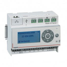 Ecocompteur résidentiel compatible RT2012 - Legrand