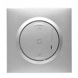 Commande sans fil pour interrupteur de volets Dooxie with Netatmo Aluminium