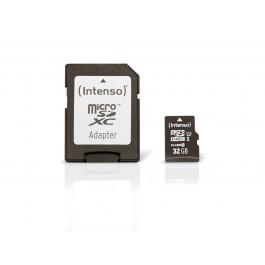 Carte micro SD 32 GB Classe 10 Premium - Intenso