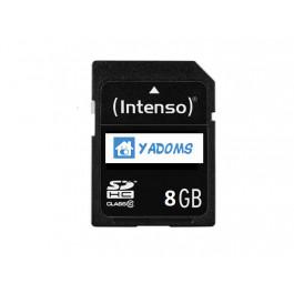 Carte Micro SD 8Go (adaptateur inclus) avec système YADOMS pré-installé