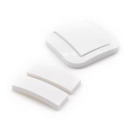 Jeux d'interrupteurs fournis avec l'interrupteur Blanc Cozy de NodOn