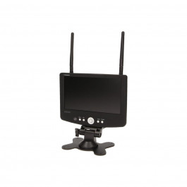 Système de surveillance autonome avec écran et deux caméras - Orno
