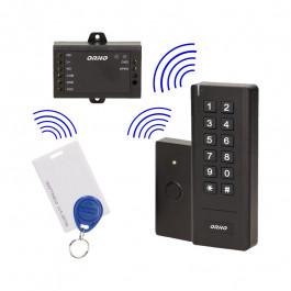 Digicode sans fil avec lecteur RFID, relais et bouton - ORNO