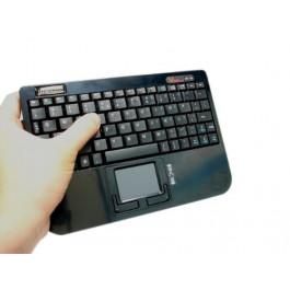 [RECONDITIONNÉ] Mini clavier + Touchpad - Compatible Freebox - PERIXX-710