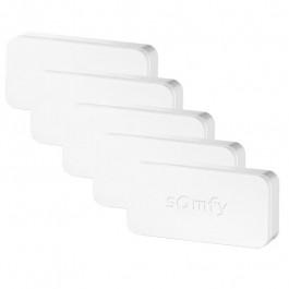 Lot de 5 détecteurs vibration et ouverture IntelliTAG pour Somfy Home Alarm