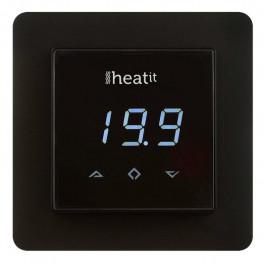 Thermostat HeatIt Multireg Z-Wave Noir - ThermoFloor