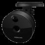 Caméra IP C1 noire HD grand angle vision nocturne WiFi - Foscam