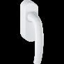 Poignée de fenêtre aluminium blanc laqué avec EnOcean - Ubiwizz