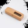Sonde de température sans piles EnOcean bois clair - Ubiwizz