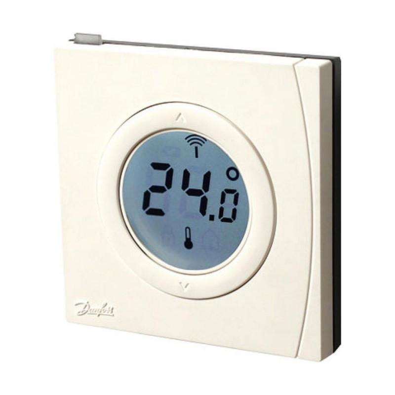 sonde d 39 ambiance thermostat z wave danfoss link rs danfoss. Black Bedroom Furniture Sets. Home Design Ideas