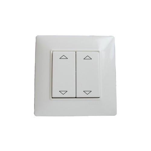 interrupteur double volet roulant sans fil. Black Bedroom Furniture Sets. Home Design Ideas