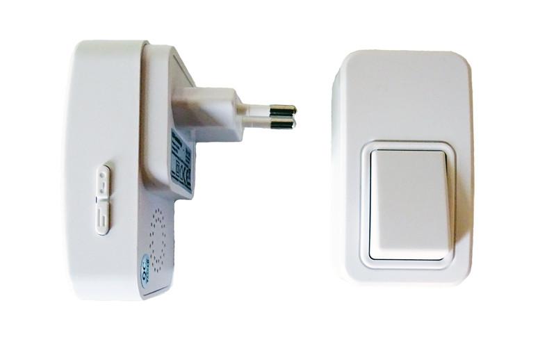 Pack sonnette sans fil et sans pile bouton et r cepteur - Sonnette sans fil sans pile ...