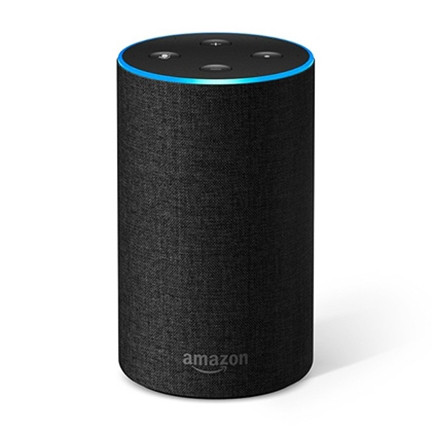assistant vocal amazon echo g n ration 2 anthracite amazon. Black Bedroom Furniture Sets. Home Design Ideas