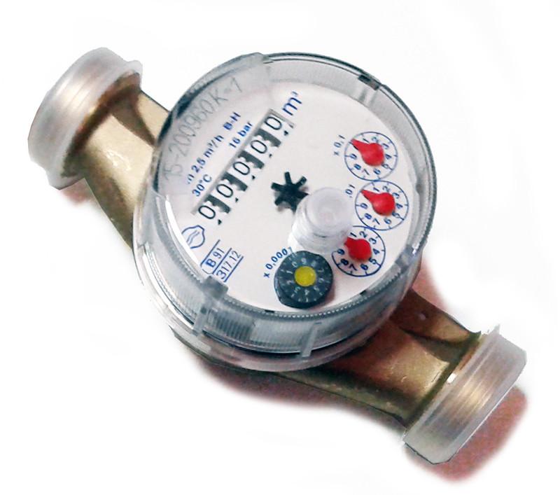 Compteur d 39 eau froide avec sortie impulsion 1 imp - Compteur eau froide ...