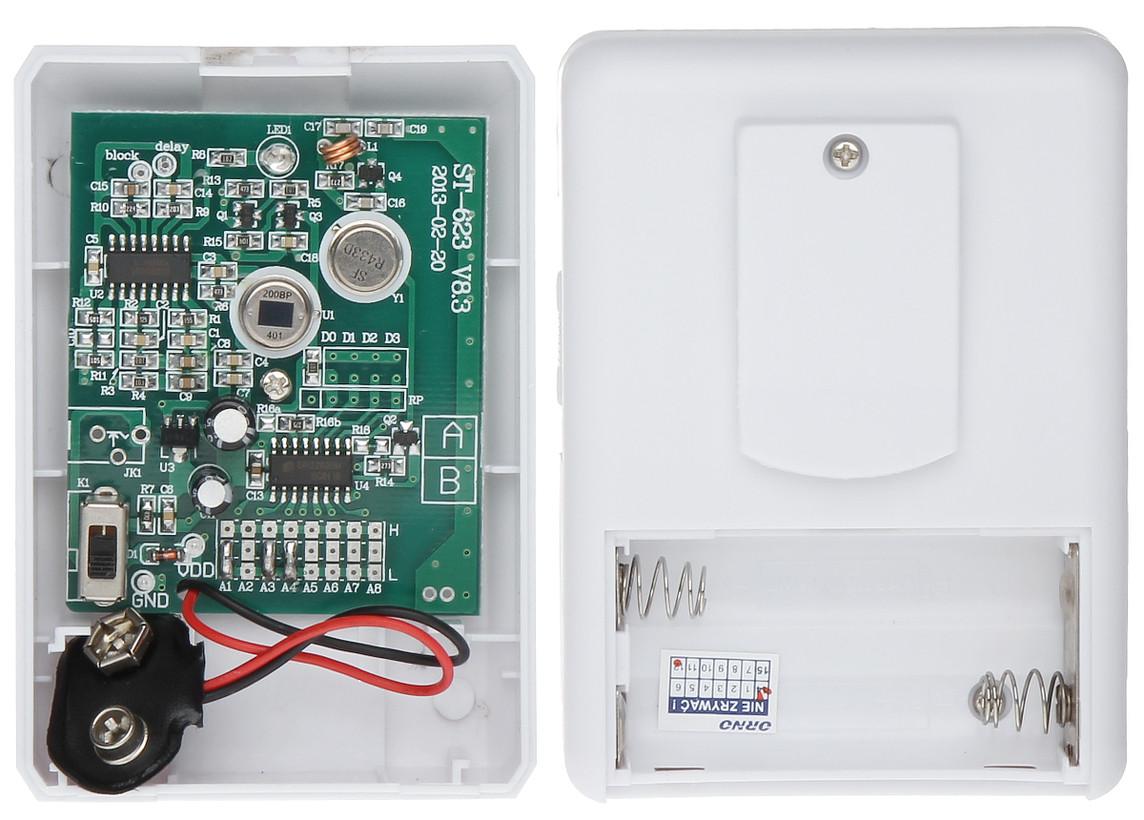D tecteur de mouvement pir avec alerte sonore sans fil clip orno - Reglage detecteur de mouvement ...