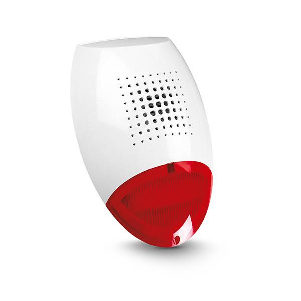sir ne ext rieure filaire buzzer et flash satel. Black Bedroom Furniture Sets. Home Design Ideas