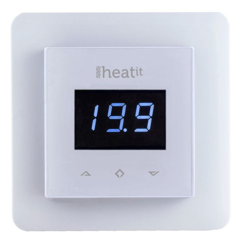 ral9003 thermostat z wave heatit multireg blanc. Black Bedroom Furniture Sets. Home Design Ideas