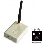Transceiver USB Rfxcom (Emetteur / Recepteur 433Mhz) avec support Somfy
