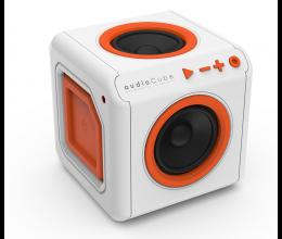 Enceinte Surround Portable AudioCube Blanc / Orange Bluetooth  - Allocacoc