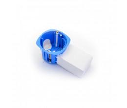 Boite d'encastrement avec poche pour micromodule version appareillage - BLM