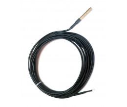 Sonde de température câblée 5m compatible module encastrable Qubino