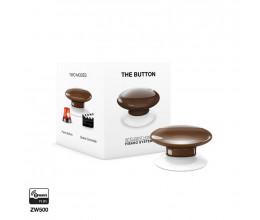 Bouton de commande Z-Wave Plus marron - Fibaro