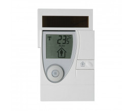 Thermostat d'ambiance EnOcean solaire - Kieback & Peter