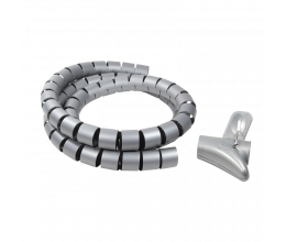 Spirale d'installation pour câble d'ordinateur ou tv - Logilink