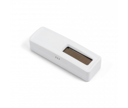 Sonde de température et hygrométire sans piles EnOcean blanche - Ubiwizz