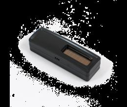 Sonde de température et hygrométire sans piles EnOcean noire - Ubiwizz